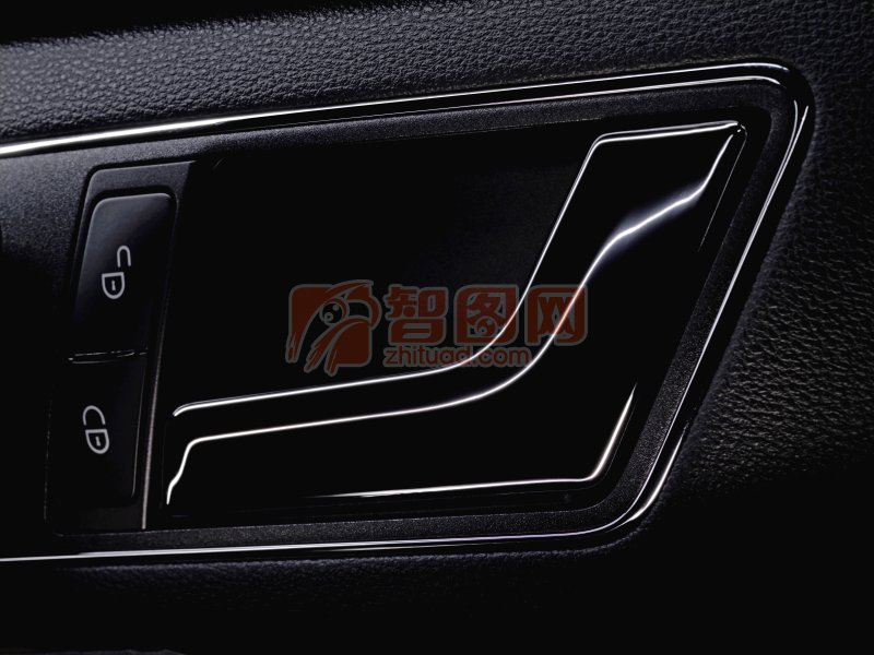 轎車車門門手元素