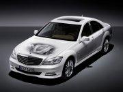 白色車身轎車