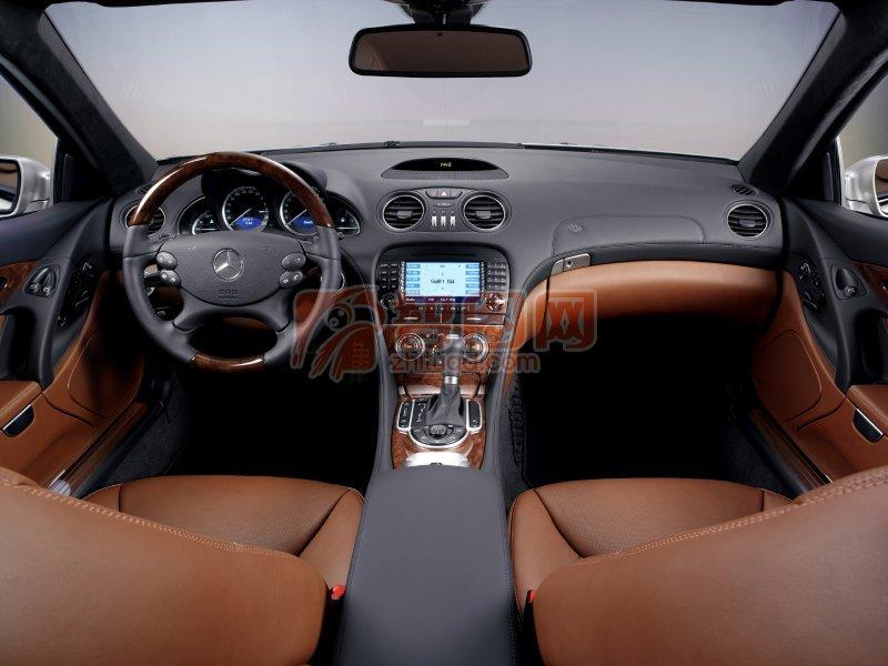 SL級跑車內部元素