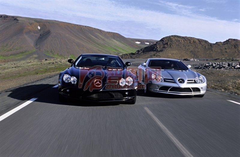 轎車風景元素攝影