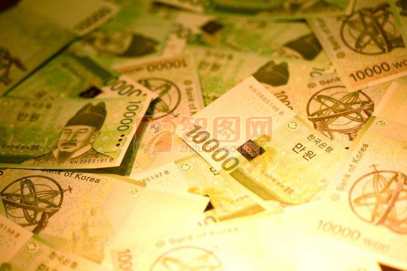 纸币摄影元素4