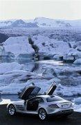 轎車冰山元素攝影