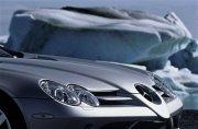 銀色奔馳轎車