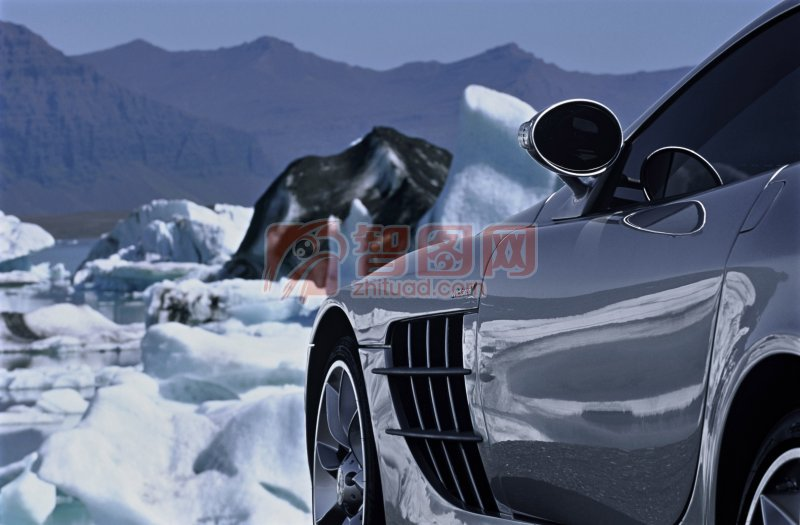 銀色轎車攝影