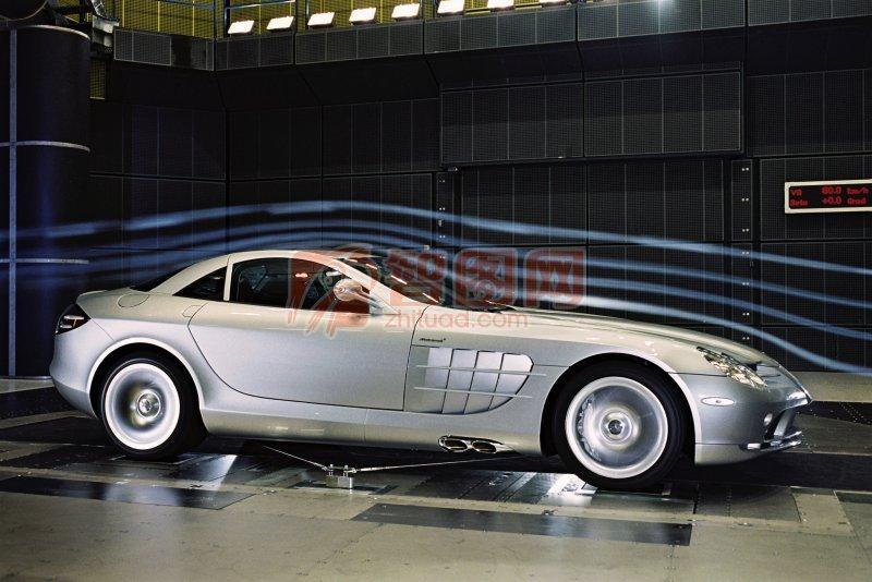 銀色轎車元素