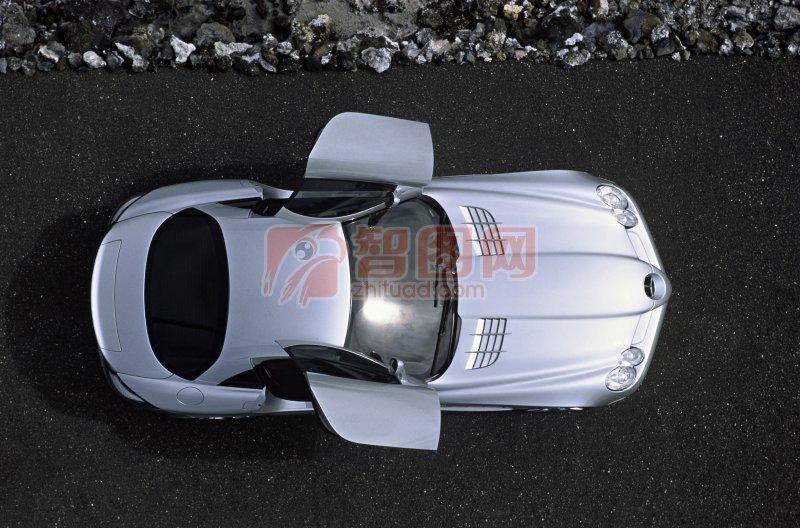 轎車俯視圖元素