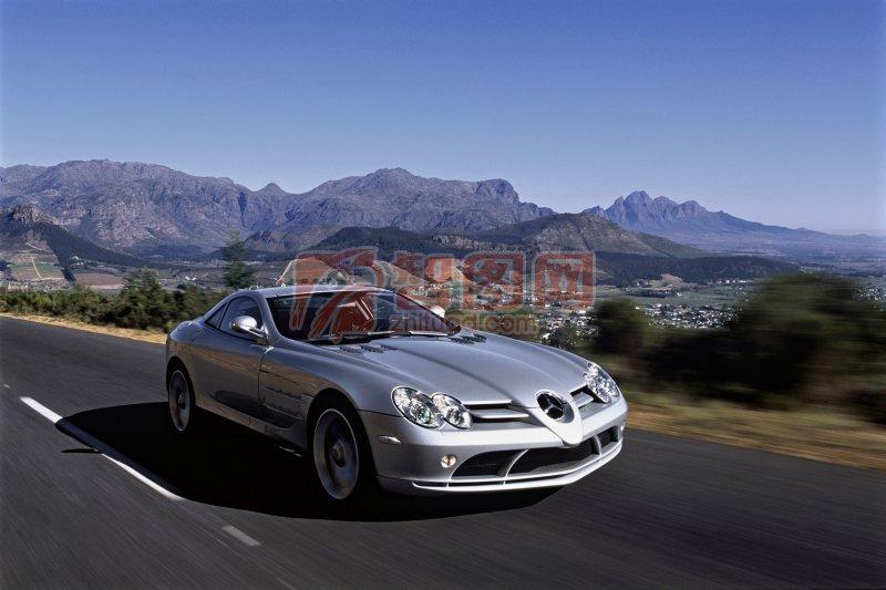 銀色轎車風景色影