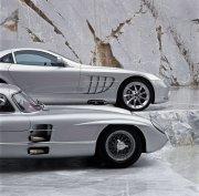 銀色轎車元素攝影