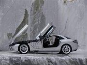 銀色轎車素材