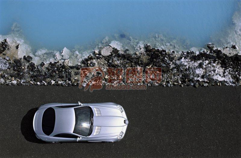 轎車頂部攝影
