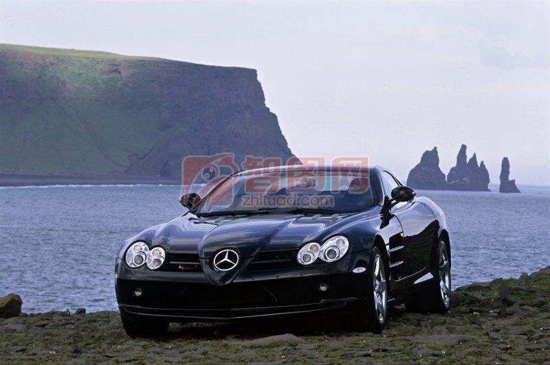 黑色轎車素材攝影
