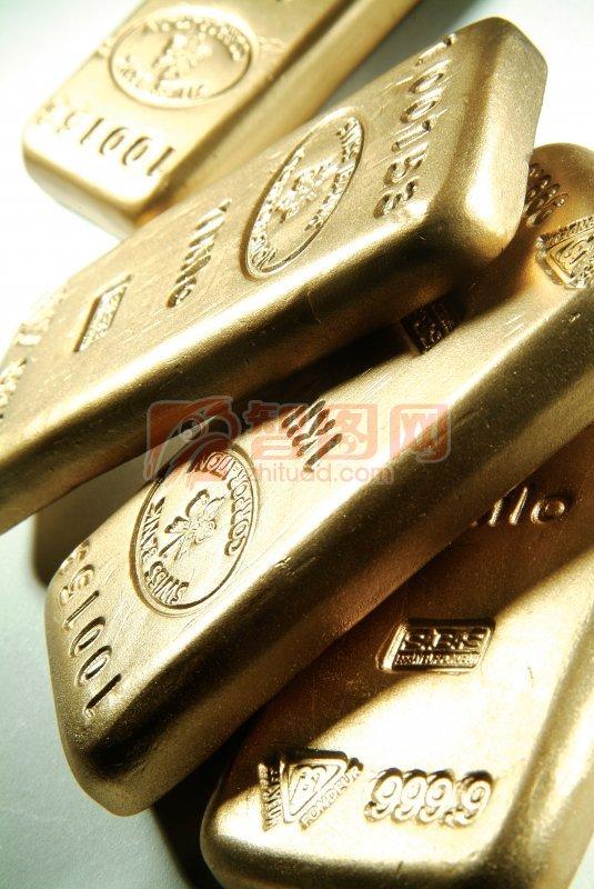 堆放的黄金