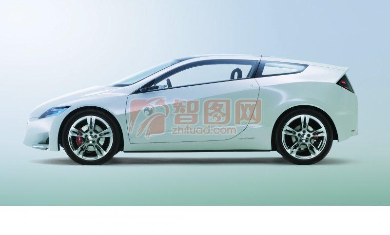 白色CR-Z概念車元素