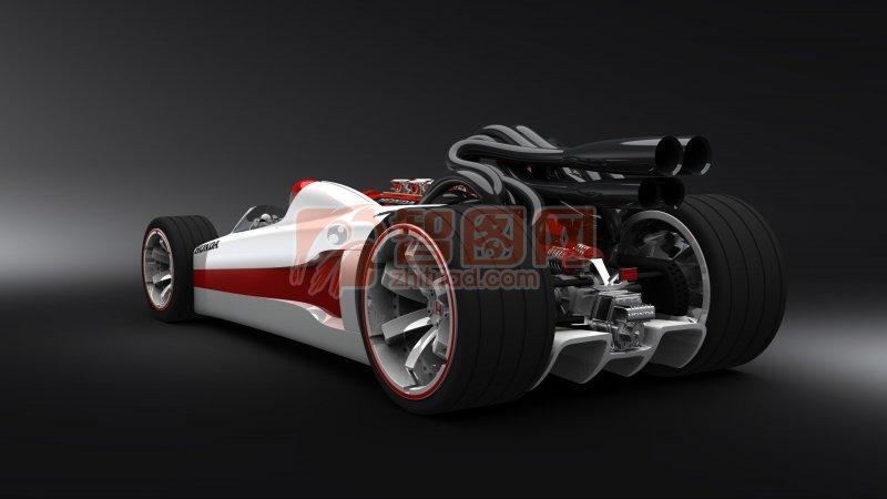 轎車模型素材