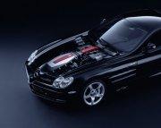 黑色背景轎車元素