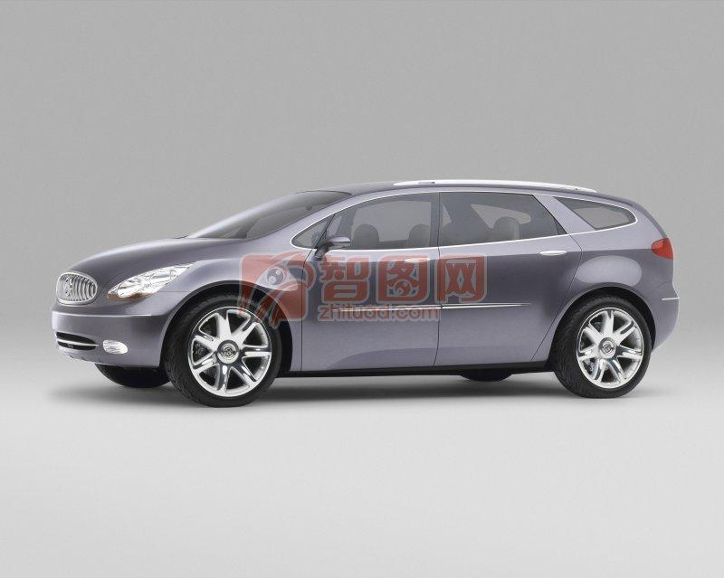 Centieme概念車側面攝影元素
