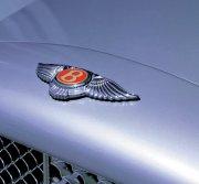 賓利轎車標識攝影
