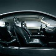 黑色車身轎車元素