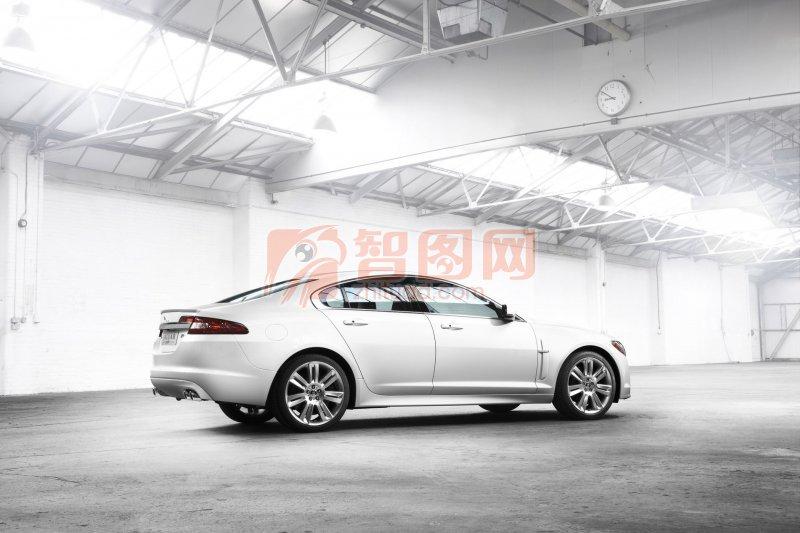 白色轎車攝影元素