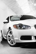 白色轎車攝影素材