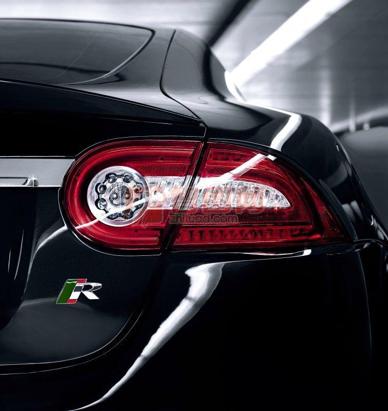 轎車尾燈攝影素材
