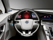 S60概念車汽車方向盤攝影元素