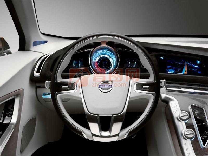 S60概念車方向盤攝影元素