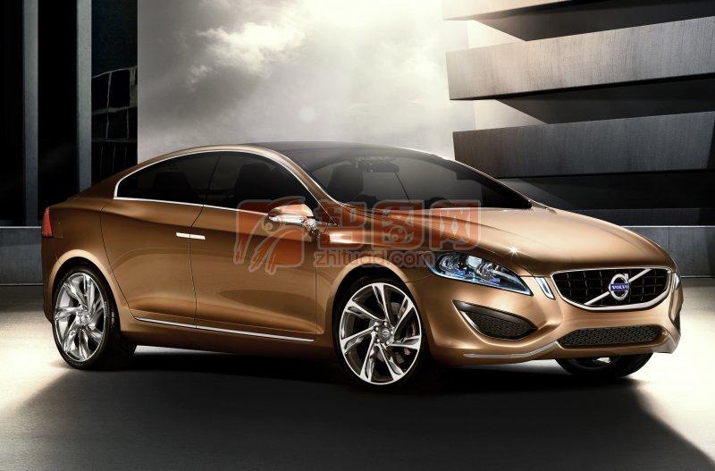 棕色S60概念車設計