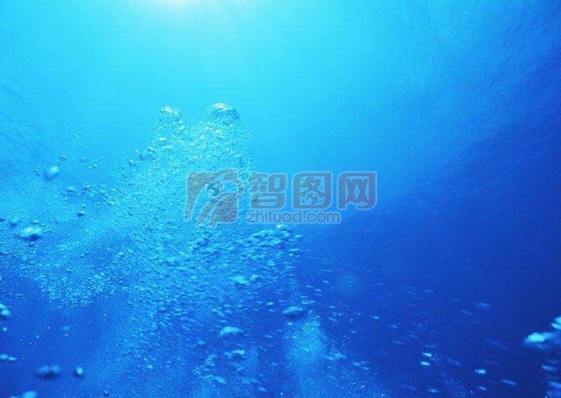 美麗海底景色