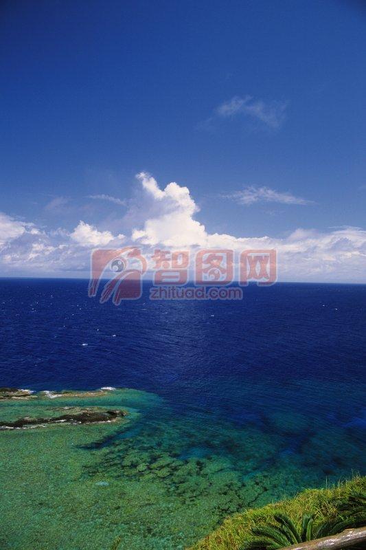 海景攝影元素