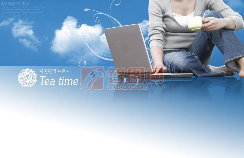 tea time海报设计