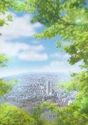 綠樹環繞城市