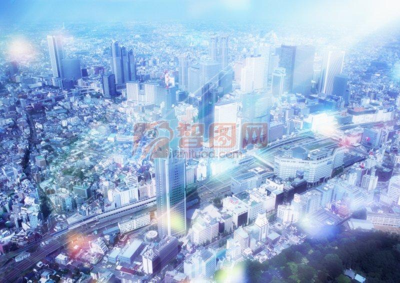 燈火輝煌的城市