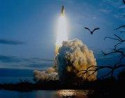 升空的火箭