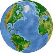 藍綠相間板塊圖