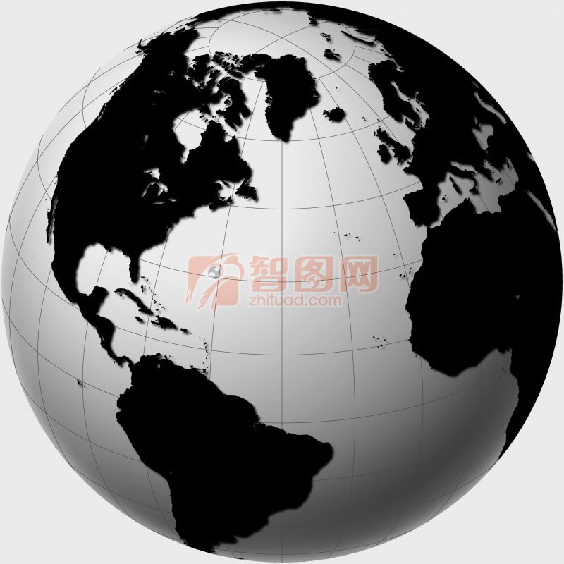 【jpg】黑白地球板块