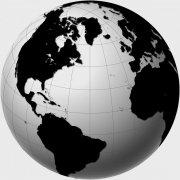 黑白地球板塊