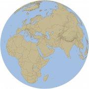 淡藍色地球海洋