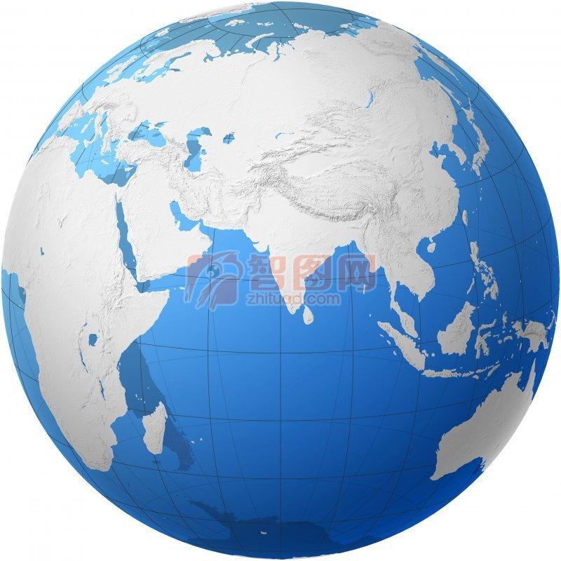 清晰地球圖案