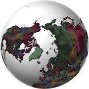 高清世界地圖素材