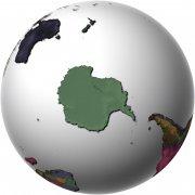 銀灰色世界地圖