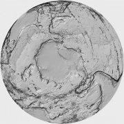 灰色素材世界地圖攝影