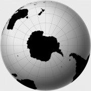 灰色背景世界地圖