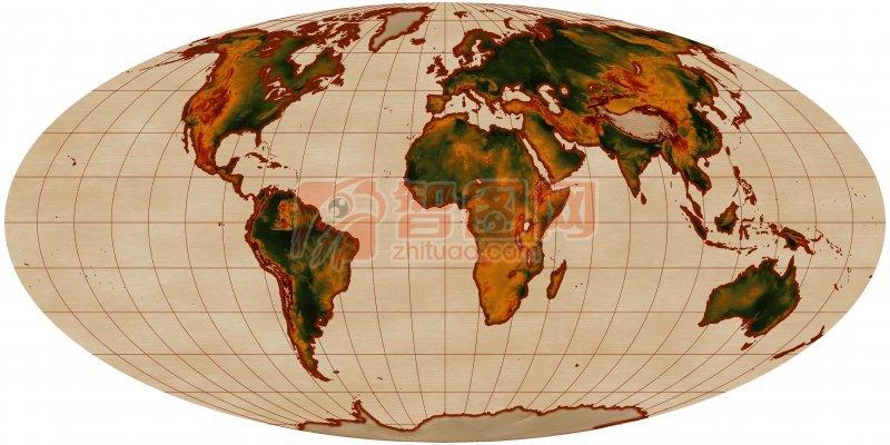 世界地圖攝影
