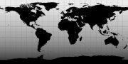五大洲板塊黑灰色攝影