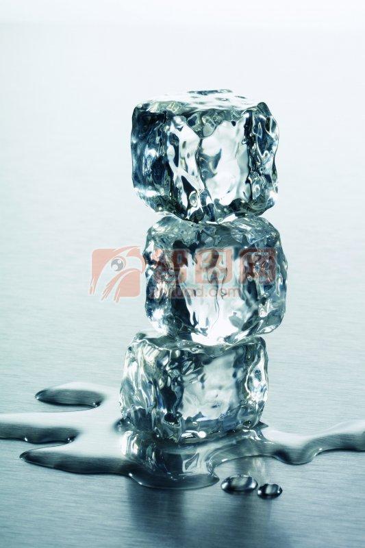 墨色冰塊元素