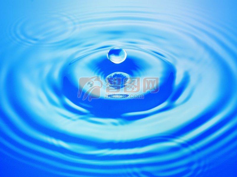 藍色水滴元素