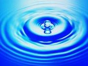美麗水滴波紋