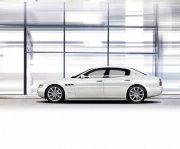 白色总裁Quattroporte轿车素材