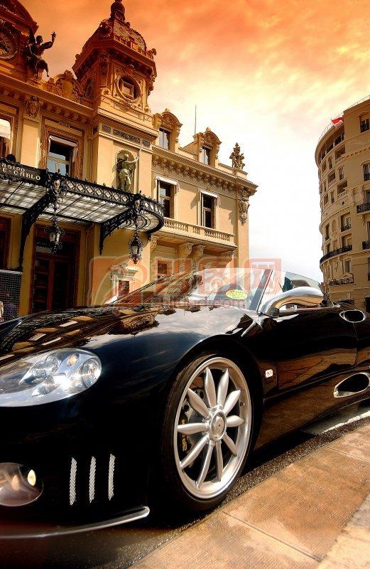 世爵轿车摄影